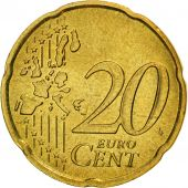 France, 20 Euro Cent, 2000, FDC, Laiton, KM:1286