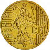 France, 50 Euro Cent, 2007, FDC, Laiton, KM:1412