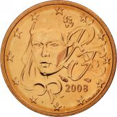 France, 2 Euro Cent, 2008, FDC, Copper Plated Steel, KM:1283