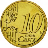 France, 10 Euro Cent, 2008, FDC, Laiton, KM:1410