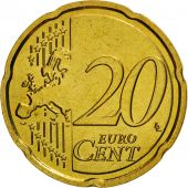 France, 20 Euro Cent, 2008, FDC, Laiton, KM:1411