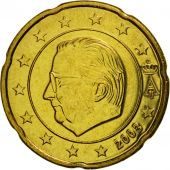 Belgium, 20 Euro Cent, 2003, MS(65-70), Brass, KM:228