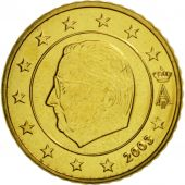 Belgium, 50 Euro Cent, 2003, MS(65-70), Brass, KM:229