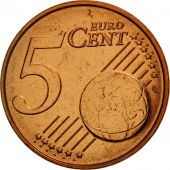 Belgique, 5 Euro Cent, 2004, FDC, Copper Plated Steel, KM:226