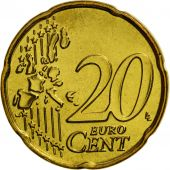 Belgium, 20 Euro Cent, 2004, MS(65-70), Brass, KM:228