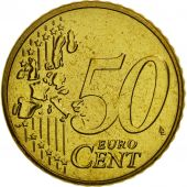 Belgium, 50 Euro Cent, 2004, MS(65-70), Brass, KM:229