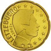 Luxembourg, 20 Euro Cent, 2003, FDC, Laiton, KM:79