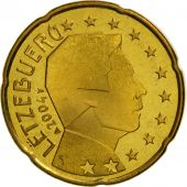 Luxembourg, 20 Euro Cent, 2004, FDC, Laiton, KM:79