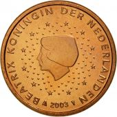 Netherlands, Euro Cent, 2003, MS(65-70), Copper Plated Steel, KM:234