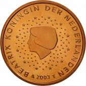 Pays-Bas, 5 Euro Cent, 2003, FDC, Copper Plated Steel, KM:236