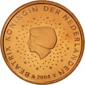 Pays-Bas, 5 Euro Cent, 2004, FDC, Copper Plated Steel, KM:236