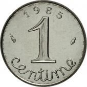 France, Épi, Centime, 1985, Paris, MS(65-70), Stainless Steel, KM:928