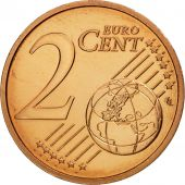 France, 2 Euro Cent, 2009, FDC, Copper Plated Steel, KM:1283