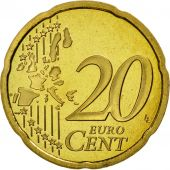 France, 20 Euro Cent, 1999, BE, Laiton, KM:1286