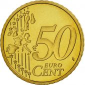France, 50 Euro Cent, 1999, BE, Laiton, KM:1287