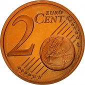 France, 2 Euro Cent, 2000, BE, Copper Plated Steel, KM:1283