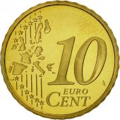 France, 10 Euro Cent, 2000, BE, Laiton, KM:1285