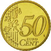 France, 50 Euro Cent, 2000, BE, Laiton, KM:1287