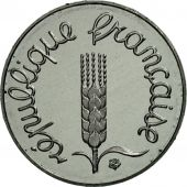 France, Épi, Centime, 1992, Paris, BE, Stainless Steel, KM:928, Gadoury:91b