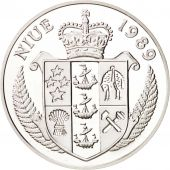 Niue, 50 Dollars 1989, Jeux Olympiques 1992, BE, KM 27