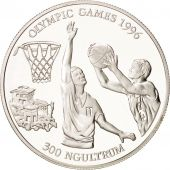 Bhoutan, 300 Ngultrum 1994, Jeux Olympiques 1996, Basketball, KM 73