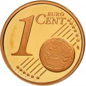 Cité du Vatican, Euro Cent, BE 2008, SPL, Copper Plated Steel, KM:375