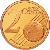 Cité du Vatican, 2 Euro Cent, BE 2008, SPL, Copper Plated Steel, KM:376