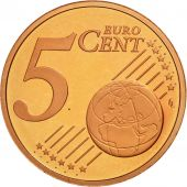 Cité du Vatican, 5 Euro Cent, BE 2008, SPL, Copper Plated Steel, KM:377
