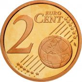 Cité du Vatican, 2 Euro Cent, BE 2009, SPL, Copper Plated Steel, KM:376