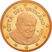 Cité du Vatican, 5 Euro Cent, BE 2009, SPL, Copper Plated Steel, KM:377