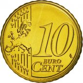 Malta, 10 Euro Cent, 2011, MS(63), Brass, KM:128