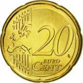 Malta, 20 Euro Cent, 2011, MS(63), Brass, KM:129