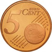 Luxembourg, 5 Euro Cent, 2004, FDC, Copper Plated Steel