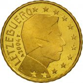 Luxembourg, 10 Euro Cent, 2004, FDC, Laiton