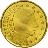 Luxembourg, 20 Euro Cent, 2004, FDC, Laiton