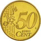 Luxembourg, 50 Euro Cent, 2004, FDC, Laiton