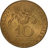 France, La conquête, 10 Francs, 1983, Paris, SUP, Nickel-Bronze, KM:952