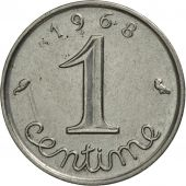 France, Épi, Centime, 1968, Paris, SUP, Stainless Steel, KM:928, Gadoury:91