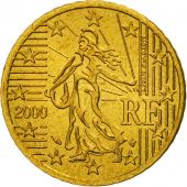 Coin, France, 50 Euro Cent, 2000, MS(65-70), Brass, KM:1287