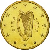 IRELAND REPUBLIC, 50 Euro Cent, 2003, FDC, Laiton, KM:37