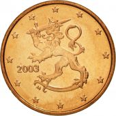 Finlande, Euro Cent, 2003, FDC, Copper Plated Steel, KM:98
