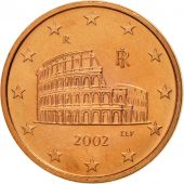 Italie, 5 Euro Cent, 2002, FDC, Copper Plated Steel, KM:212