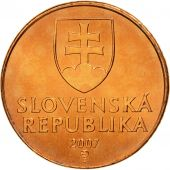 Slovaquie, 50 Halierov, 2007, FDC, Copper Plated Steel, KM:35