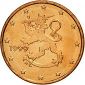 Finlande, Euro Cent, 1999, FDC, Copper Plated Steel, KM:98