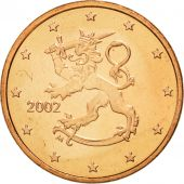 Finlande, Euro Cent, 2002, FDC, Copper Plated Steel, KM:98