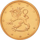 Finlande, 2 Euro Cent, 2002, FDC, Copper Plated Steel, KM:99