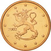 Finlande, 5 Euro Cent, 2002, FDC, Copper Plated Steel, KM:100