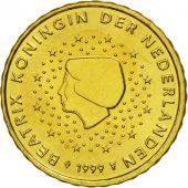 Netherlands, 10 Euro Cent, 1999, MS(65-70), Brass, KM:237