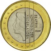 Netherlands, Euro, 2001, MS(65-70), Bi-Metallic, KM:240