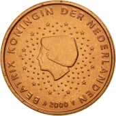 Netherlands, 5 Euro Cent, 2000, MS(65-70), Copper Plated Steel, KM:236